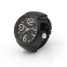 "Arabic Number Quartz Men Pocket Finger Ring Watch 0.87"" HOT LW"
