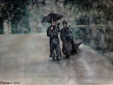 Withnail And I (high quality print of original painting by Jo Mummery)