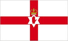 Nordirland Rot Hand 8x5 Riesige Nationalflagge