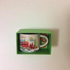 Starbucks London YAH Ornament Mug 2oz Demi You Are Here Christmas Coffee England