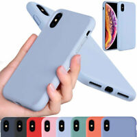 Silicone Shockproof Plush Lining Soft Cover Case For Apple iPhone XS Max XR XS