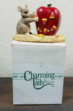 Charming Tails Candy Apples Figurine 85611 Silvestri Dean Griff