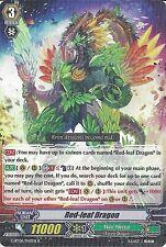 CARDFIGHT VANGUARD CARD: RED-LEAF DRAGON G-BT06/042EN R RARE