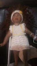 "Luna Baby 7"" Doll Lea by Bascu Porcelain"