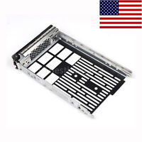 """New 3.5"""" Sas hard drive Tray Caddy For Dell PowerEdge F238F G302D T710 R710 T610"""