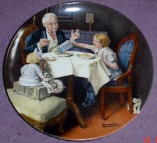 Knowles American Fine China THE GOURMET By Norman Rockwell
