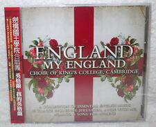 CHOIR OF KING'S COLLEGE, CAMBRIDGE ENGLAND MY ENGLAND Taiwan 2-CD w/OBI