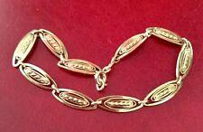 Beau Bracelet ancien Filigrane Or 18 carats 750/Ancient 18K solid Gold Bracelet