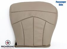 2000 Ford F150 Lariat Quad X-Cab -Passenger Side Bottom Leather Seat Cover TAN