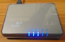3Com Switch 5 Port 10/100Mbps RJ45 Desktop Switch - 3CFSU05