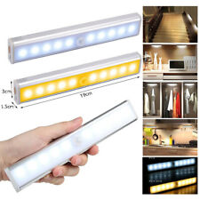 USB Rechargeable LED Drawer Under Cabinet Light with PIR Sensor Kitchen Cupboard