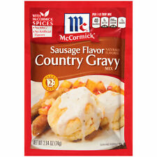 McCormick Sausage Flavor Country Gravy Mix, 2.64 oz (Pack of 3)