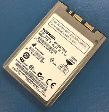 "Toshiba 160GB Internal 5400RPM 1.8"" (MK1633GSG) Micro SATA Hard Drive HDD"