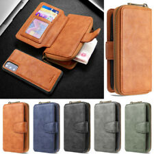 Zipper Wallet Leather Flip Bag Case Cover For Samsung A51 A21 A71 A41 S20 S10 S9