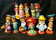 NEW Disney Sparkle Princess Animator Christmas Ornament set of 11 Ariel Belle
