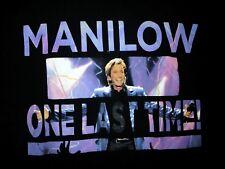 Barry Manilow concert tour shirt