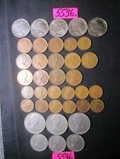 37  x mixed  coins    NEW ZEALAND      156   gms      Mar5536
