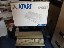 RARE VINTAGE ATARI 1040 STE COMPUTER SYSTEM (VGC BOXED w CUBEAT)