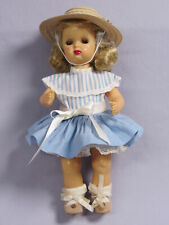 """Collectible Tiny Terri Lee Walker 10"""" in good condition. 1951-1958 Tagged Dress"""
