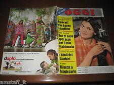 OGGI 1969/13=CARLA FRACCI=PAOLO VILLAGGIO=RITA PAVONE=MARIA SERENA=VIAREGGIO=