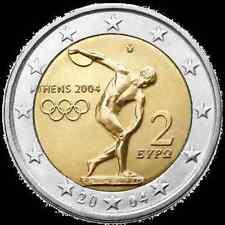 manueduc  GRECIA 2004 2 EUROS   DISCOBOLO   JJOO  ATENAS
