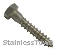 Stainless Steel Lag Bolt 5/16 x 1-1/2 (Pack of 50)