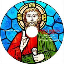 DVD Biblia REINA VALERA en Español Audio MP3 y Texto PDF + 2nda Edición Original