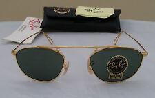 Vintage B&L Ray Ban Vintage Modified Aviator Gold W2003 Sunglasses USA