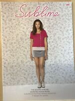 Second Sublime Worsted Knitting Pattern Book With 17 Designs For Women 699