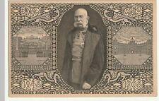 Kaiser Franz Josef I., Künstler AK, Jubiläumskarte 1908 gel. Stempel Graz