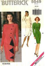 Butterick Sewing Pattern Women's Tapered DRESS 5049 Size 6-8-10 UNCUT