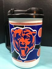 Chicago Bears NFL 20oz Insulated Drink Sport Mug & lid. Whirly Made In USA! NEW