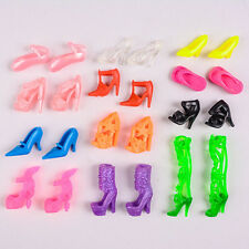 Random Shoes Heels Sandals For Barbie Doll Fashion Party Dress 3 Pairs Toy UK