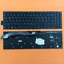 DE - Tastatur Keyboard ohne Rahmen mit Beleuchtung für Dell Inspiron 15-5565