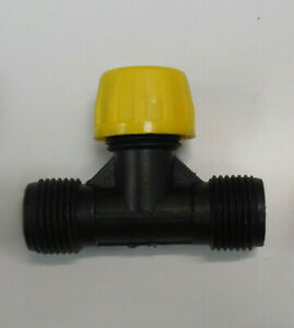 ATV / Quad Sprayer Spares 50, 60,100 lt  'T' Piece Complete With Single Nozzle