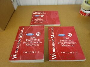 Repair Manuals Literature For Ford Freestyle For Sale Ebay