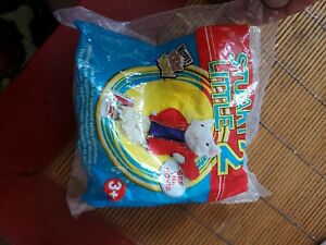 Wendys Stuart Little 2 Airplane 2002 Kids Meal Toy with Stand new sealed