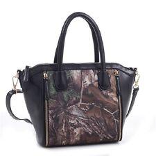 Realtree Camo CCW Purse Handbag, Concealed Carry Camouflage Grace Black