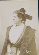 Arlésienne en costume Vintage silver print Tirage argentique  10X15  190