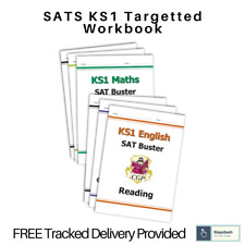 More details for ks1 yr 1 & 2 maths & english sat buster bundle - inc answers (for the 2021 test)