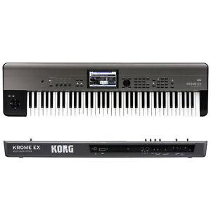 Korg Krome EX 73 Key Synthesizer Workstation