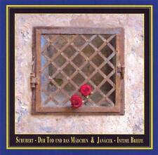 """SCHUBERT: DER TOD UND DAS M""""DCHEN; JANCEK: INTIME BRIEFE NEW CD"""