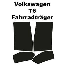VW T6 T6.1 Lackschutzfolie für original Fahrradträger Hecktäger Transparent Bus
