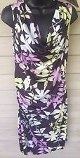 Gwinnie Bee Spruce & Sage Dress Size OX Multi Color Floral Summer