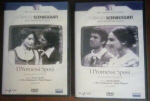 I Grandi sceneggiati Rai I Promessi sposi 2 DVD puntate 1-8 Come nuovi