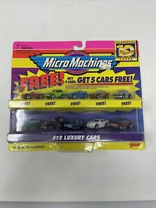Micro Machines '96 Galoob #12 Luxury Cars Blister Pack Unopened Band New 10 Cars