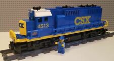 Maersk Train CSX 40ft Containers Precut Custom Stickers voor Lego Set 10219