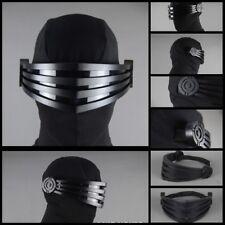 G.I. JOE SNAKE EYES PVC Mask (GENTLE GIANT) Cosplay Mask Costume Crop Collection