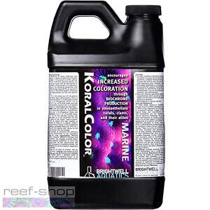 Brightwell Aquatics KoralColor 2 Liter Increase Coral Color Biochrome Production