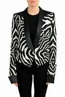 Just Cavalli Multi-Color One Button Tuxedo Style Women's Blazer US S IT 40
